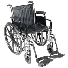 "FEI: 16"" wheelchair with removable desk armrest, swing away footrest - 43-2230 - Actual Image"
