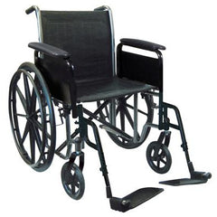 "FEI: 18"" wheelchair with removable desk armrest, swing away footrest - 43-2260 - Actual Image"