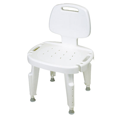 FEI: Adjustable Shower Seat With Back, No Arms - 45-2302