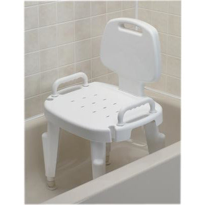 FEI: Adjustable Shower Seat With Arms And Back - 45-2303