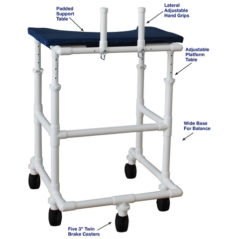 MJM International: Adult Platform Walker - 450-ADULT - Parts Overview