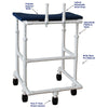 Image of MJM International: Adult Platform Walker - 450-ADULT - Parts Overview