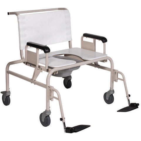 Convaquip: Bariatric Transport Shower Chair - 1328SC