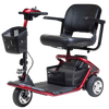 Image of Golden Technologies: LiteRider 3 Wheel Scooter-Golden Technologies-Scooters 'N Chairs