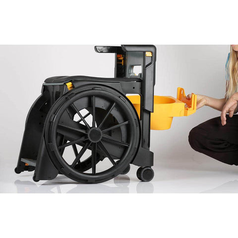 Seatara: Wheelable Travelling Commode And Shower Chair - ZMR300100 - Installing Commode Tray