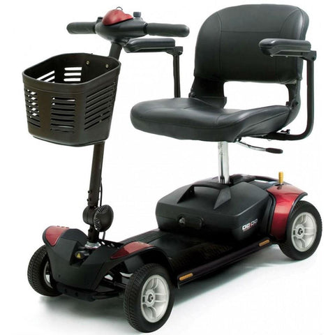 Pride Mobility: Go-Go Elite Traveler 4 Wheel Scooter-Pride Mobility-Scooters 'N Chairs