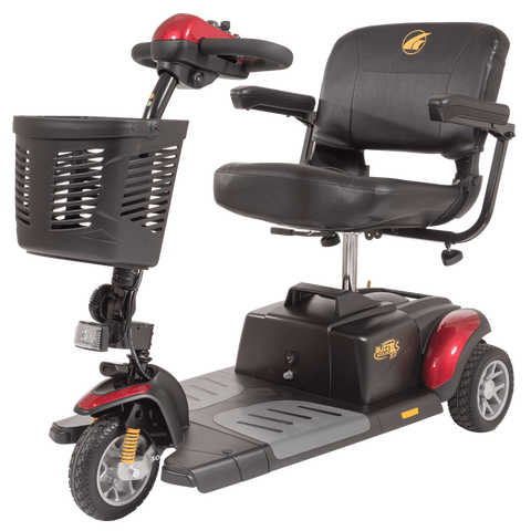 Golden Technologies: Buzz Around XLS HD 3-Wheel Scooter-Golden Technologies-Scooters 'N Chairs