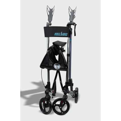 Ergoactives: Roller-Go Double Foldable Walker With Forearm Support - A042 - Front View