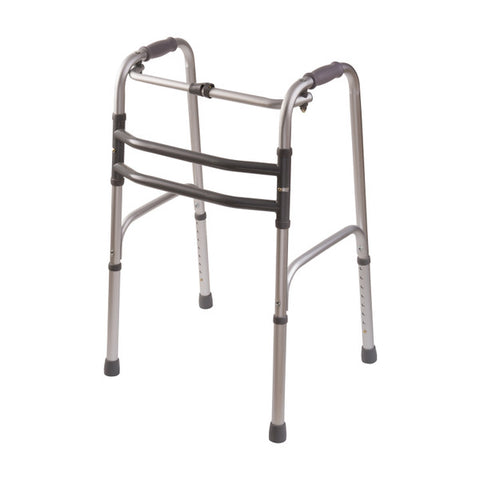 Healthsmart: DMI Single Release Folding Walkers, 2 Per Pack - 500-1015-0600 - Right Side View