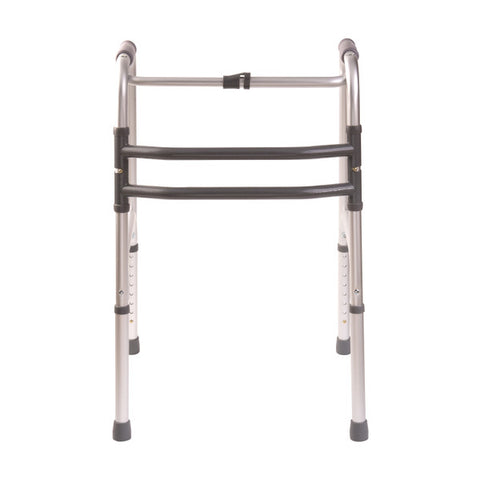 Healthsmart: DMI Single Release Folding Walkers, 2 Per Pack - 500-1015-0600 - Front View