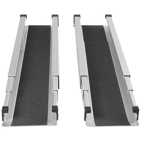 Healthsmart: DMI Retractable Lightweight Portable Wheelchair Ramps - 517-4094-0000 - Front View