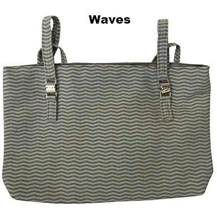 Granny Jo Products: Naples Walker Bag Collection - Waves Pattern