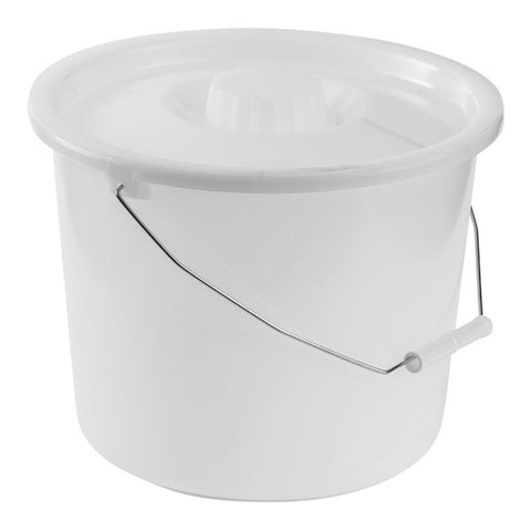 Healthsmart: Dmi® 12-Quart Commode Pails With Lid - 520-1210-1900 - Cover