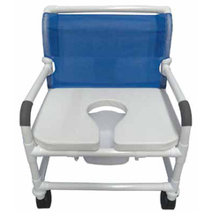 Convaquip: Shower Chairs 600 lb Weight Capacity - 127-5TW-WB-FSSS