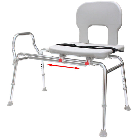 Eagle Health: Bariatric Sliding Transfer Bench (Regular) a-55211
