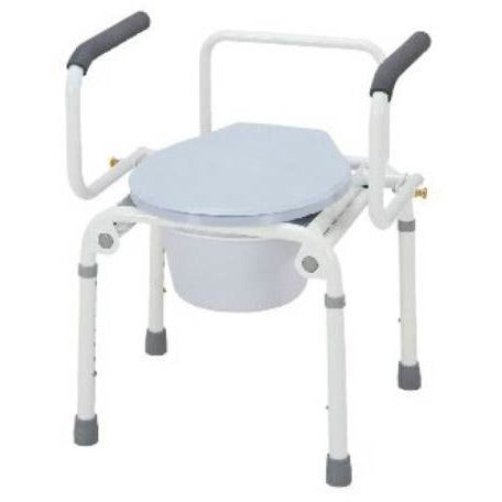 Merits: Deluxe 3-In-1 Steel commode - C311