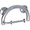 Image of Grabcessories: 2-in-1 Grab Bar Toilet Paper Holder Wgrips & Hollow Wall Anchors - 61022 Polished Chrome - Actual Image
