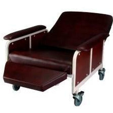 Convaquip: Recliner/Stretcher with Casters - 900S/900R - Recline Position