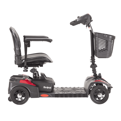 Drive Medical: Spitfire Scout 4 Extended Range-Drive-Scooters 'N Chairs