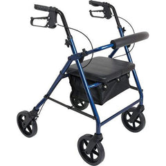 FEI: ProBasics Aluminum Rollator, Color Blue - 68-0028 - Front View