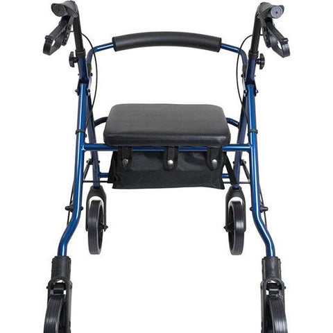 FEI: ProBasics Aluminum Rollator, Color Blue - 68-0028 - Back View