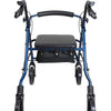 Image of FEI: ProBasics Aluminum Rollator, Color Blue - 68-0028 - Back View