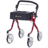 Image of Comodita: Avanti Walker Rollator - COM 800 Red Front View