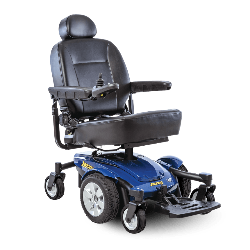 Pride Mobility: Mobility Jazzy Select 6 electric wheelchair - Mobility Scooters Store