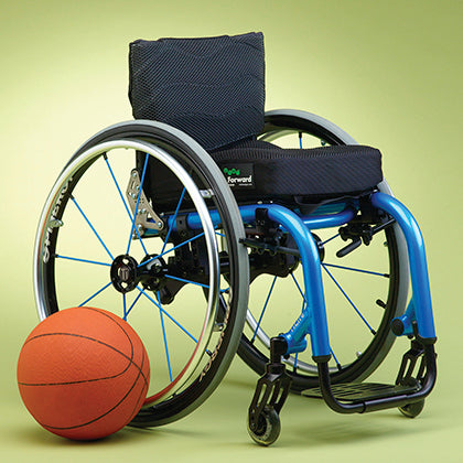 Ride Designs: Ride Forward Cushion for Wheelchairs - FCD - Adjust With Wheelchair