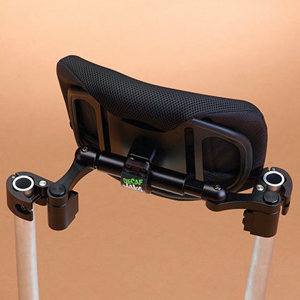 Ride Designs: Java Decaf Back for wheelchairs - Top View
