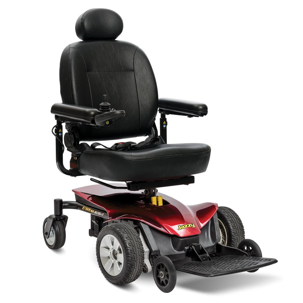 Pride Mobility: Jazzy Elite ES 1 electric wheelchair - Mobility Scooters Store