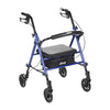 "Image of FEI: Adjustable Height Rollator, 6"" Casters, Color Blue - 70-0583 - Actual Image"