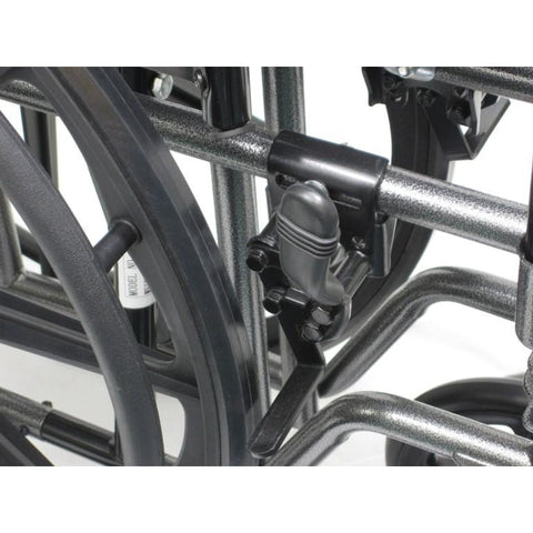 Karman Healthcare: Standard Wheelchair  – KN-700T Brake view