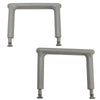 Image of Eagle Health: Bariatric Swivel Sliding Transfer Bench (Long) a-55682 Arm Rest Accessory