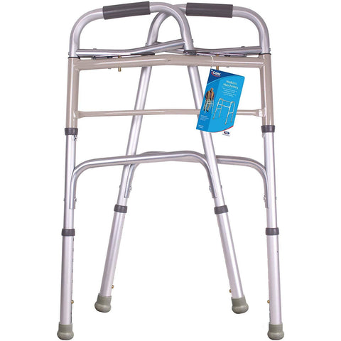 Carex: Classics Dual-Button Extra Wide Walker - FGA84800 0000 - Folded View