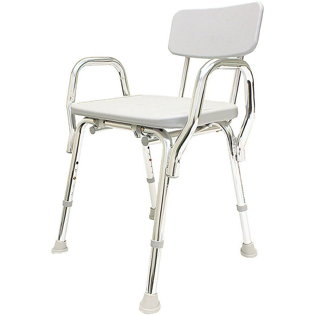 Eagle Health: Shower Chair w/Back & Arms a-72231