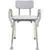 Image of Eagle Health: Shower Chair w/Cut-Out, w/Back & Arms a-72331