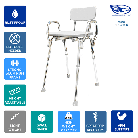 Eagle Health: Hip Chair a-73231
