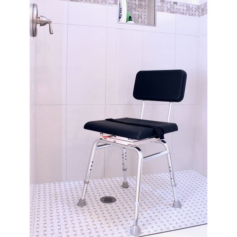 Eagle Health: Padded Swivel Shower Chair a-75231