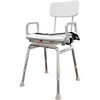 Image of Eagle Health: Armrest (Single) for most 77-series benches and 75-series chairs - 75003 - Seat Accessory