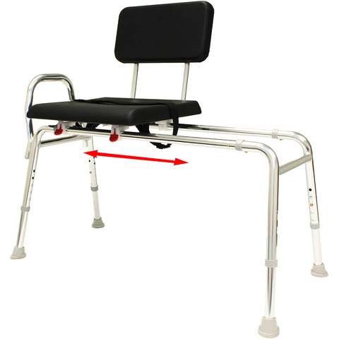 Eagle Health: Padded Sliding Transfer Bench (Regular) a-77111