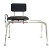 Image of Eagle Health: Padded Swivel Sliding Transfer Bench (Regular) - 77661