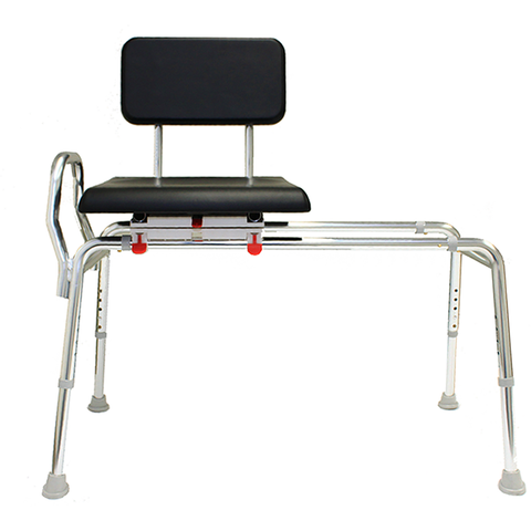 Eagle Health: Padded Swivel Sliding Transfer Bench (Regular) a-77661