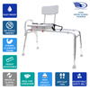 Image of Eagle Health: Swivel Sliding Transfer Bench (Regular) - 77662