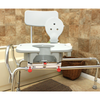 Image of Eagle Health: Swivel Sliding Transfer Bench w/Cut-Out (Regular) - 77663