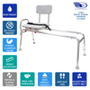 Image of Eagle Health: Swivel Sliding Transfer Bench (Extra Long) - 77692