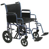 Image of Drive Medical: Bariatric Steel Transport Chair - BTR20-B