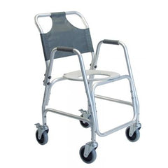 Graham Field: Deluxe Shower Transport Chair with Footrests - 7915A-1