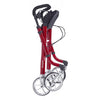 Image of Comodita: Avanti Walker Rollator - COM 800 Red