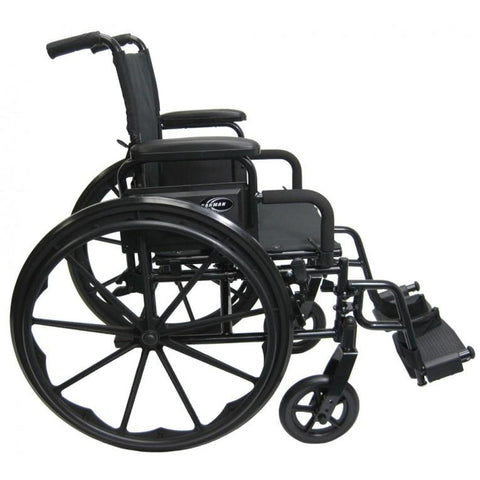 Karman Healthcare : 802-DY - Ultra Lightweight Wheelchair side view